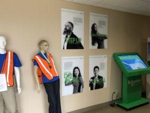 Company Program Posters on Acrylic
